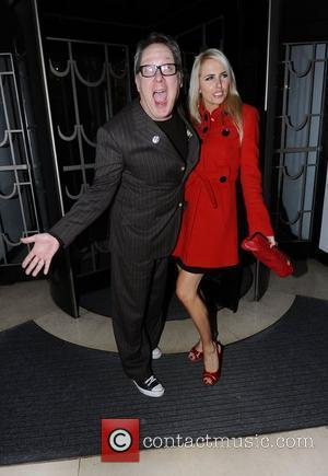 Vic Reeves, Nancy Sorrell Radio 1 Cover Party held at Claridges  London, England - 17.01.11
