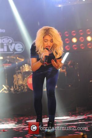 Rita Ora and Manchester Apollo
