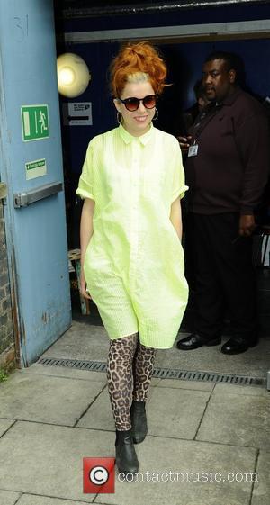 Paloma Faith leaving Radio 1's Hackney Academy ahead of the Hackney Weekend 2012 London, England - 18.06.12