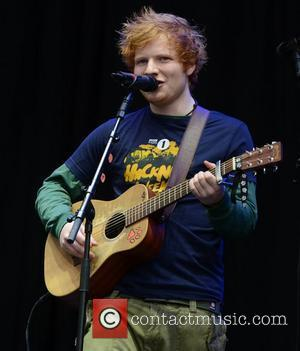 Ed Sheeran performing live on stage at BBC Radio 1's Hackney Weekend held at Hackney Marshes - Day 1 London,...