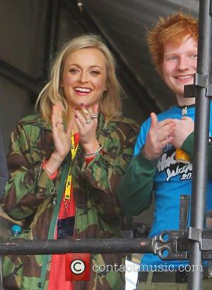 Fearne Cotton and Ed Sheeran