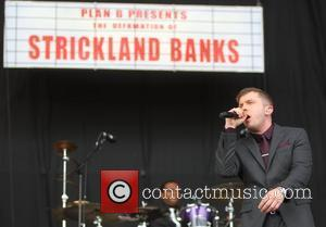 Plan B aka Ben Drew Plan B really needed a Plan B today at the Hackney Weekend festival after he...
