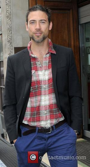 Adam Rayner and Bbc Radio 1 Studios
