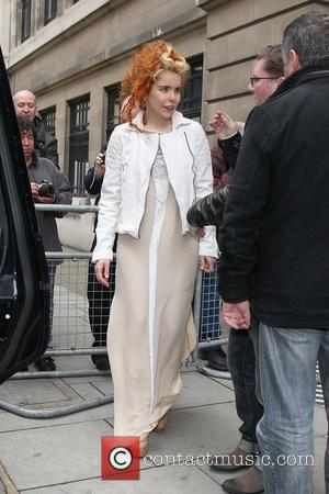 Paloma Faith at the BBC Radio 2 studios London, England - 10.05.12