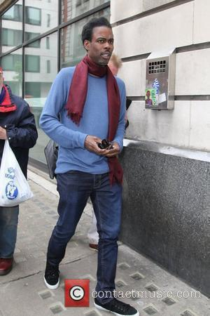 Chris Rock outside the BBC Radio 2 studios London, England - 10.05.12