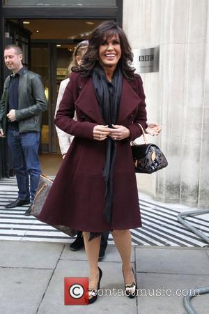 Marie Osmond outside the BBC Radio 2 studio London, England - 05.11.12