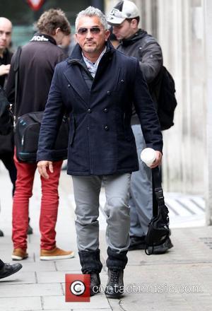 Dog Whisperer Cesar Millan  leaves the BBC Radio 2 studios London, England - 23.10.12