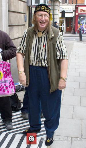 John McCririck Celebrities outside the BBC Radio 2 studios  Featuring: John McCririck Where: London, United Kingdom When: 10 Jan...