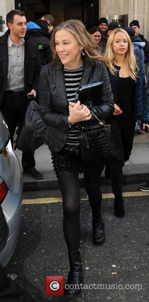 Catherine O'Hara  outside the BBC Radio 2 studios London, England - 10.10.12