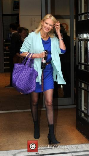 Anneka Rice  at the BBC Radio 2 studios London, England - 27.03.12