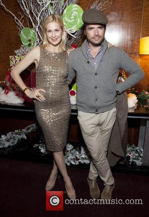 Kelly Rutherford, Mathew Settle and Radio City Music Hall