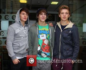 Michael Parsons, Dan Ferrari-Lane, Greg West and The X Factor
