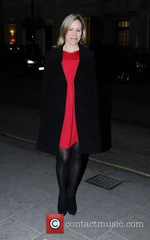 BBC News reader Sophie Raworth,  at the BBC Radio 1 Cover party held at Claridge's. London, England - 17.01.12,