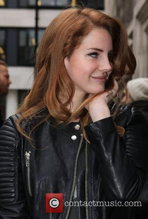 Lana Del Rey at the BBC Radio 2 studios Londonm England - 23.01.12