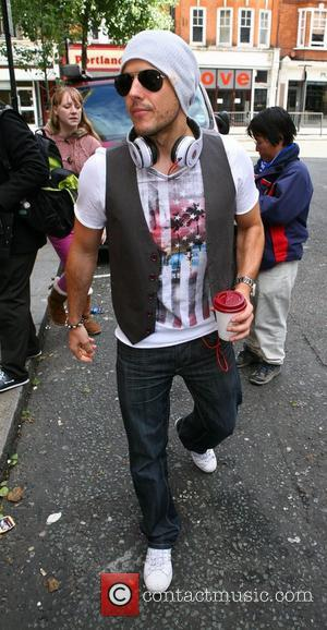 Lee Latchford-Evans of Steps outside the BBC Radio 2 studios London, England - 13.10.12