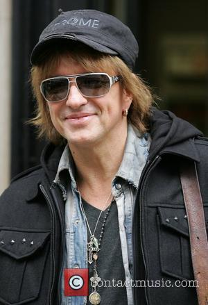 Richie Sambora from Bon Jovi at the BBC Radio 2 studios London, England - 15.10.12