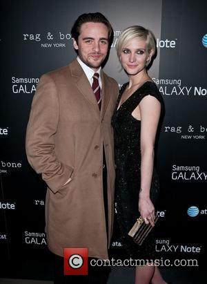 Vincent Piazza and Ashlee Simpson