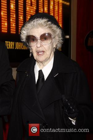 Elaine Stritch Broadway opening night of 'End Of The Rainbow' at the Belasco Theatre - Arrivals. New York City, USA...