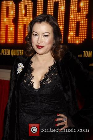 Jennifer Tilly Broadway opening night of 'End Of The Rainbow' at the Belasco Theatre - Arrivals. New York City, USA...