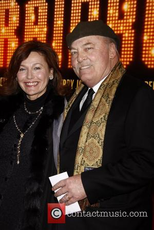 Stacy Keach Broadway opening night of 'End Of The Rainbow' at the Belasco Theatre - Arrivals. New York City, USA...