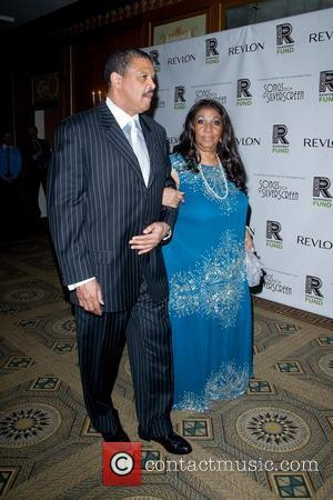 William Wilkerson and Aretha Franklin  The 2012 Concert For The Rainforest Fund Afterparty - Arrivals New York City, USA...