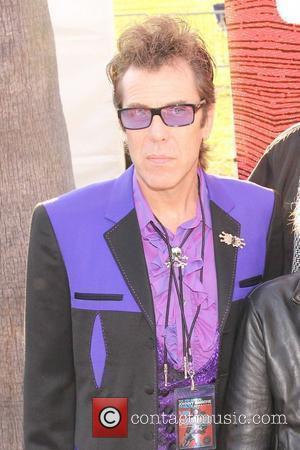 Slim Jim Phantom 8th annual Johnny Ramone tribute at Hollywood forever cemetery Los Angeles, California - 19.08.12