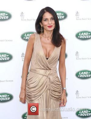 Yasmin Mills The Range Rover global launch party held at the Royal Ballet school - Arrivals London, England - 06.09.12