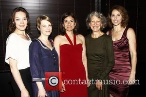 Virginia Kull, Kellie Overbey, Gina Gionfriddo, Beth Dixon and Amy Brenneman  The premiere after party for 'Rapture, Blister, Burn'...