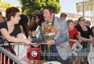 Jay Demarcus and Star On The Hollywood Walk Of Fame