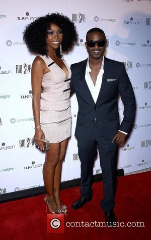Brandy Norwood, Ray J Ray J and Sophie Monk Host Prince Reigns Product Launch Party at Voodoo Beach at Rio...