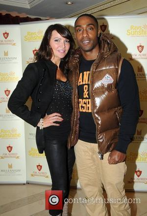 Lizzie Cundy and Simon Webbe