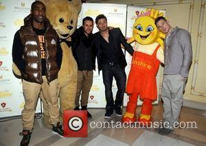 Simon Webbe, Antony Costa, Duncan James and Lee Ryan