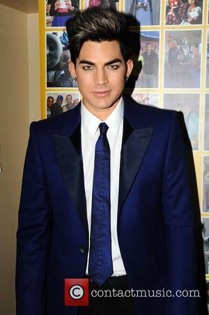 Adam Lambert,  at the Rays of Sunshine Children's Charity concert at the Royal Albert Hall. London, England - 07.06.12
