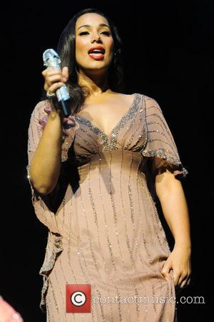 Leona Lewis,  at the Rays of Sunshine Children's Charity concert at the Royal Albert Hall. London, England - 07.06.12
