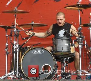 Rian Dawson, of All Time Low Reading Festival 2012 - Performances - Day Three Reading, England - 26.08.12