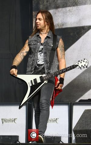 Matthew Tuck, Bullet for my Valentine Reading Festival 2012 - Performances - Day Three Reading, England - 26.08.12
