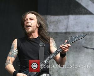 Michael Paget, Bullet for my Valentine Reading Festival 2012 - Performances - Day Three Reading, England - 26.08.12