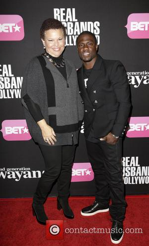 Debra Lee and Kevin Hart