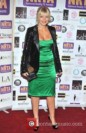 Kate Thornton National Reality Television Awards 2012 held at the Porcester Hall - Arrivals. London, England - 30.08.12
