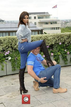 Shobna Gulati and John Barrowman Wizard jeans Rear of the Year award held at the Dorcester Hotel. London, England -...