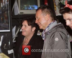 Charlie Burchill and Jim Kerr of Simple Minds Record Store Day 2012 at Sister Ray Records in Soho London, England...