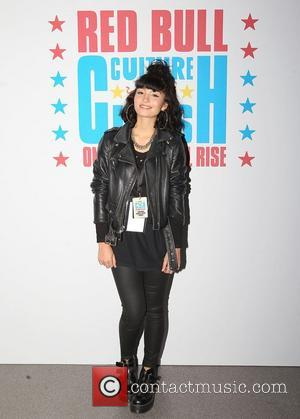 Singer Yasmin arrives at the Red Bull Culture Clash event at Wembley Arena. London, England - 07.11.12
