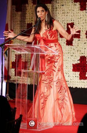 Christine Devine American Red Cross Annual Red Tie Affair held at Fairmont Miramar Hotel - Show Santa Monica, California -...
