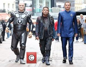 Craig Charles, Chris Barrie and Robert Llewellyn Red Dwarf X launch - photocall London, England - 03.10.12