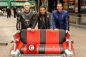 Craig Charles, Chris Barrie and Robert Llewellyn
