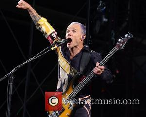 Flea The Red Hot Chili Peppers perform at Croke Park Dublin, Ireland - 26.06.12
