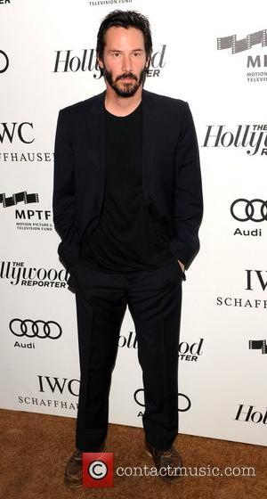 Keanu Reeves  2nd Annual Reel Stories, Real Lives benefiting The Motion Picture & Television Fund - Arrivals Los Angeles,...