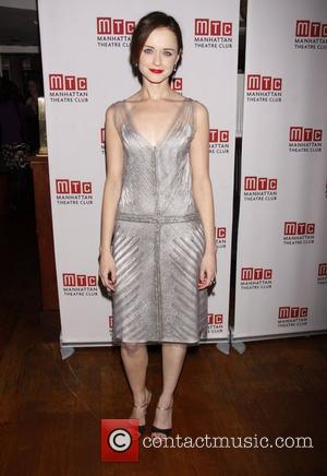 Alexis Bledel   Opening night after party for the MTC production of 'Regrets', held at Beacon restaurant.  New...