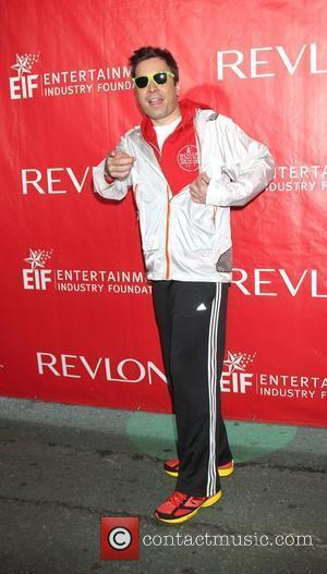 Jimmy Fallon The 15th Annual EIF REVLON Run/Walk for Women on the Streets of Manhattan  New York City, USA...