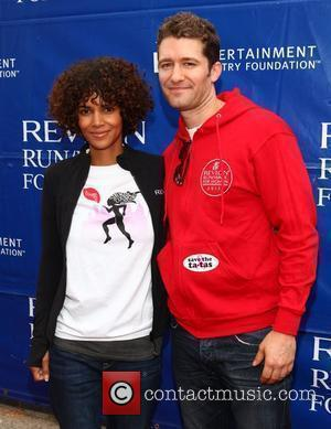 Halle Berry and Matthew Morrison